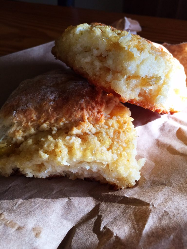 Fluffy Baked Biscuits