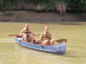 canoeing, romantic water dates, Pecan Bayou