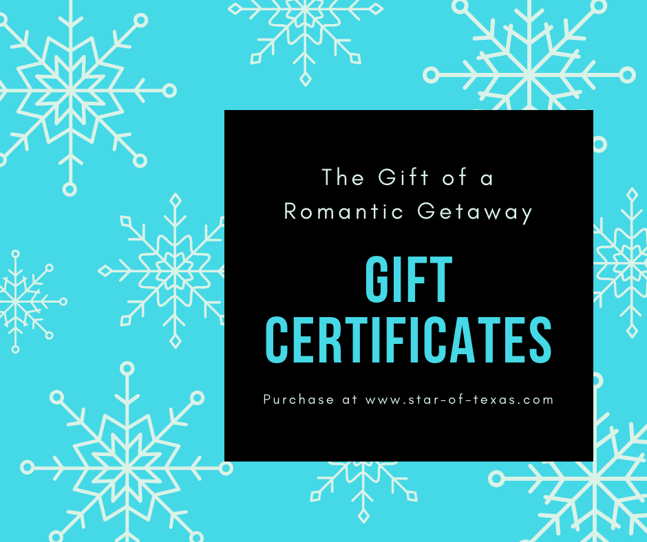 Blue Gift Certificate for bnb.