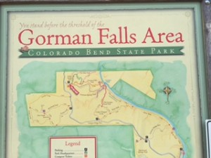 Gorman Falls in Bend TX