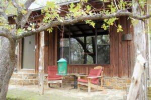 Oak Cottage porch