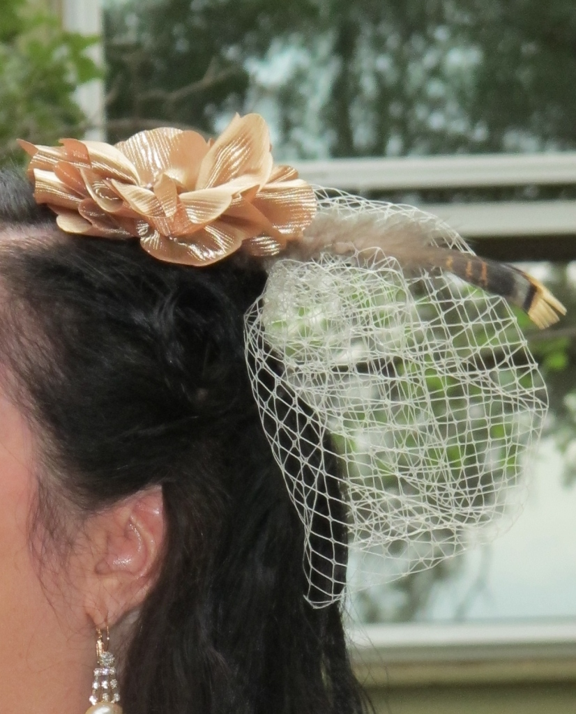wedding hair pieces, wedding veils, eloping dress
