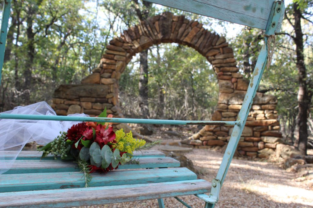 moon gate, elopement, hill country