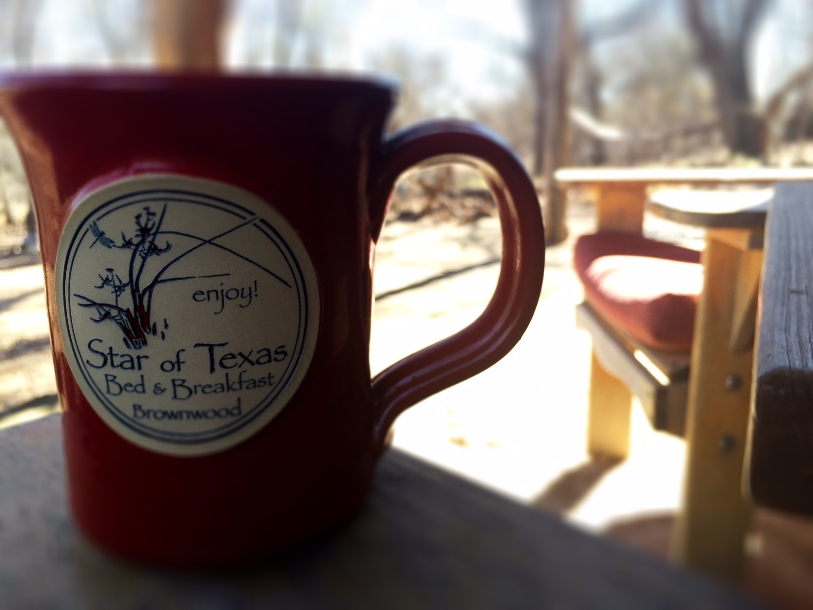 coffee, getaways, porch sitting