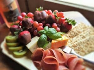 Time With You package of fruits and cheese