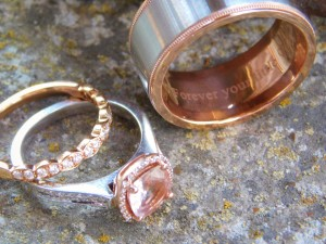 wedding rings, elopements